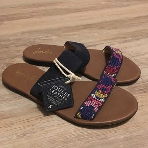 Joules Leather Sandals